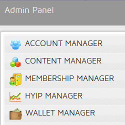 Powerful and Intuitive Admin Panel